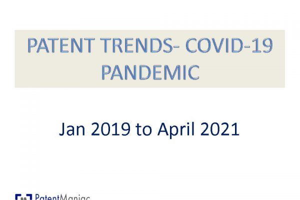 Patent Trends in COVID-19 Pandemic
